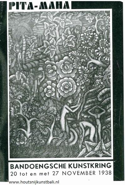 catalogus pita maha bali indonesië met art deco beelden www.houtsnijkunstbali.nl